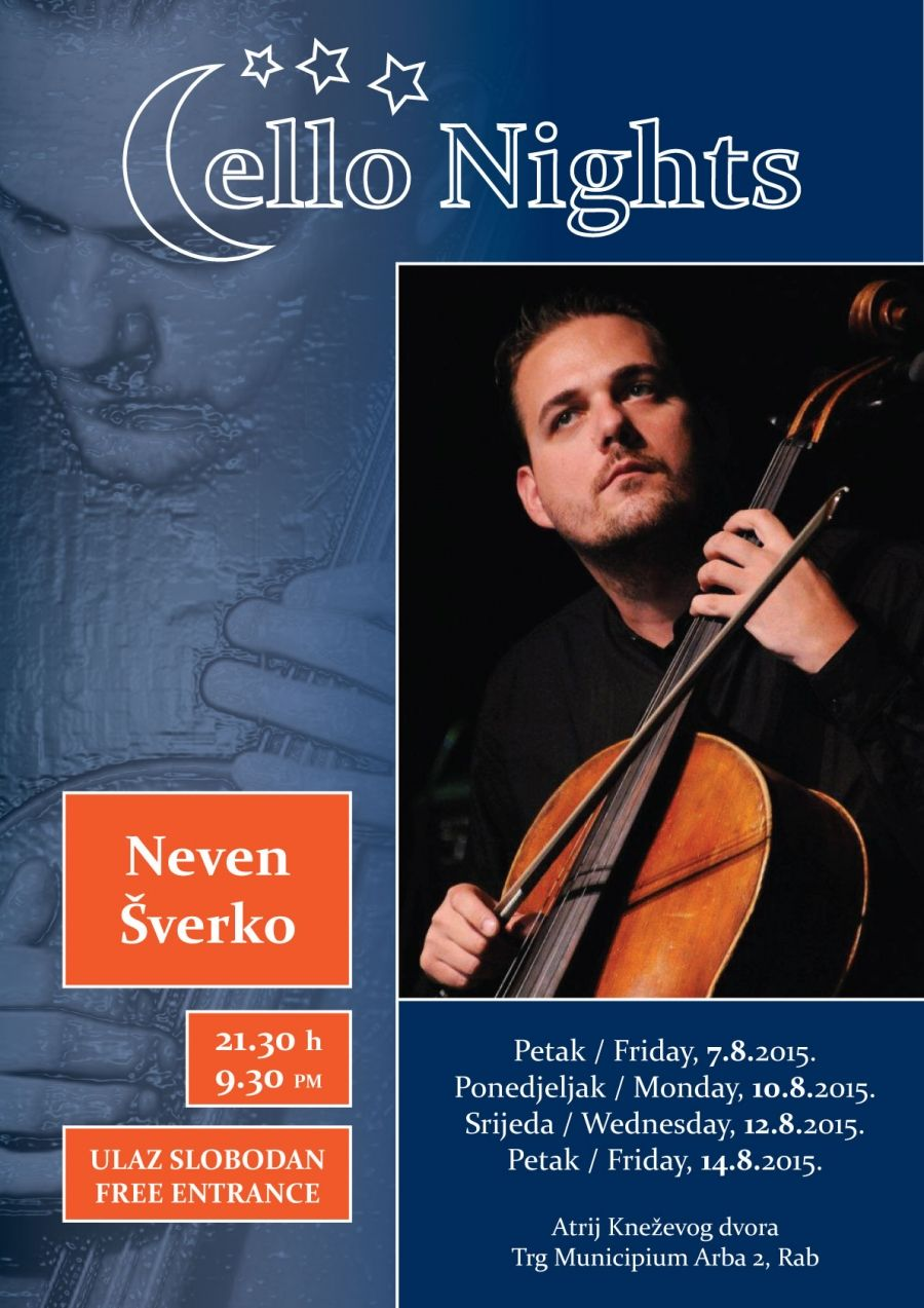 Cello nights u Galeriji Knežev dvor